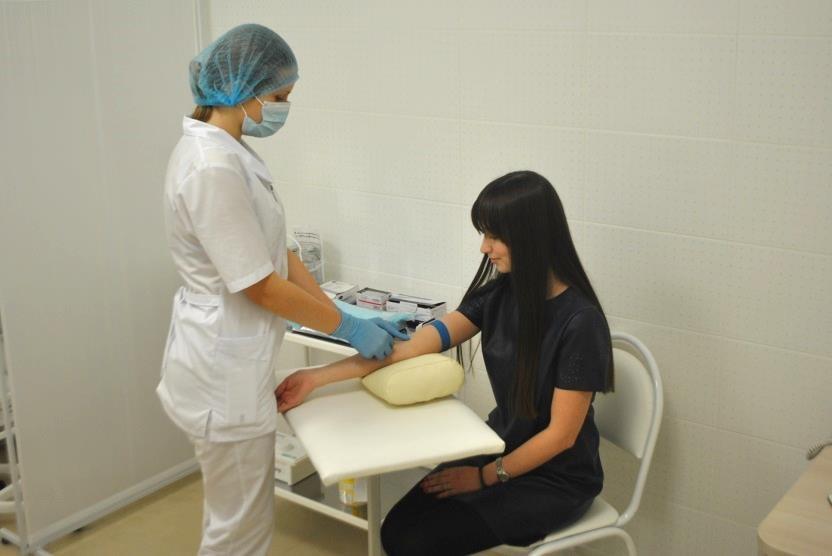 Сдать анализы крови в пензе