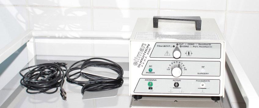 Радиоволновая терапия эрозии шейки матки на аппарате Сургитрон
