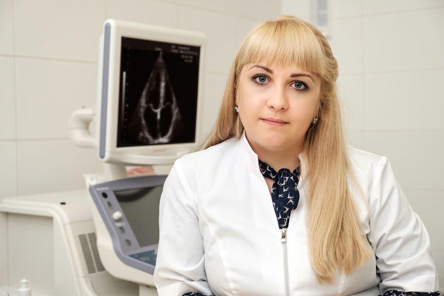 кардиолог, врач УЗИ диагностики, к.м.н. Абрамова Е.А.